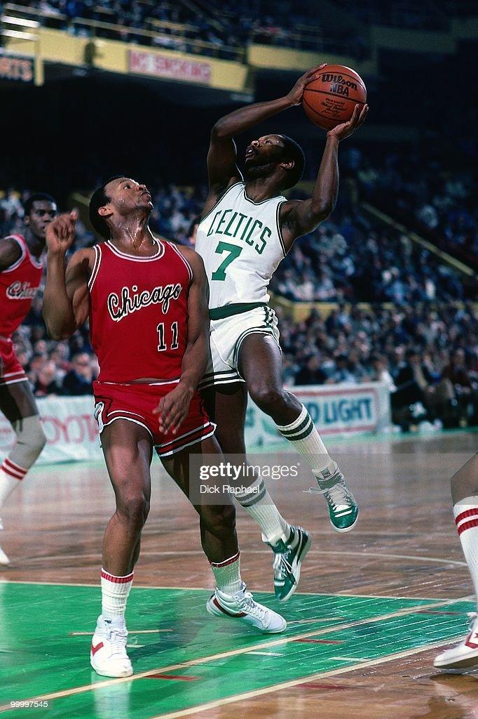 Chicago Bulls vs. Boston Celtics : News Photo