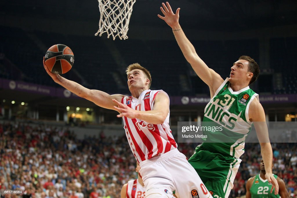 Crvena Zvezda mts Belgrade v Unics Kazan - Turkish Airlines Euroleague