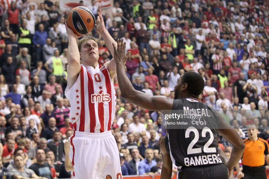 Crvena Zvezda mts Belgrade v Brose Bamberg - Turkish Airlines Euroleague