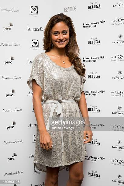 Nathalia Chubin Norman arrives at the Baltic Bar and Restaurant ahead of The Old Vic's Clarence Darrow Final Night Gala on June 15, 2014 in London,...