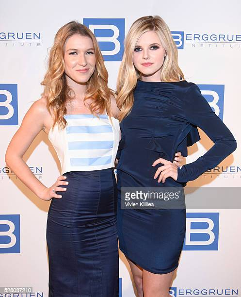 Nathalia Ramos and Ana MulvoyTen attend the Berggruen Institute 5 Year Anniversary Celebration at The Beverly Wilshire on May 3 2016 in Los Angeles...
