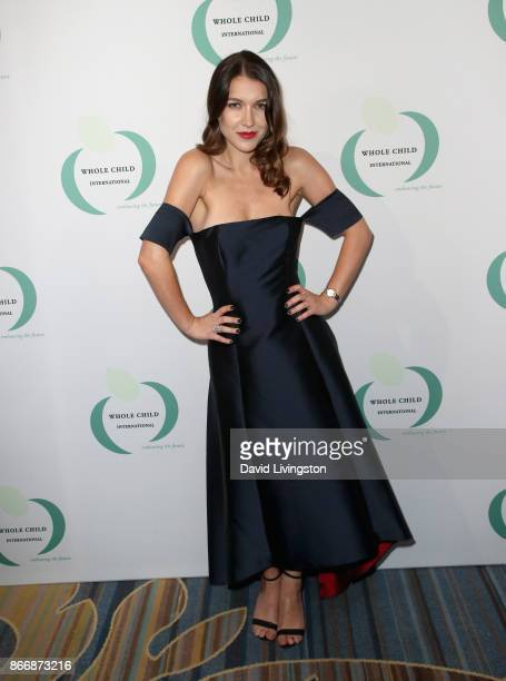 Nathalia Ramos at the Whole Child International's Inaugural Gala in Los Angeles hosted by The Earl and Countess Spencer at Regent Beverly Wilshire...