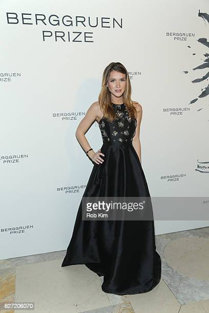 Nathalia Ramos attends the Berggruen Prize Gala Honoring Philosopher Charles Taylor at New York Public Library on December 1 2016 in New York City