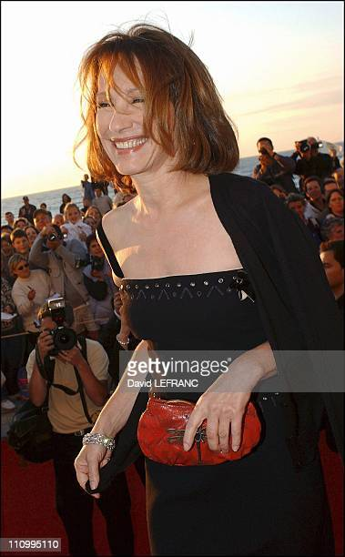Nathalie Baye at Cabourg Romantic Film Festival in Paris France on June 13 2004