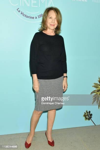 Nathalie Baye attends Centenaire Des Studios De La Victorine at Cinematheque Francaise on March 25, 2019 in Paris, France.