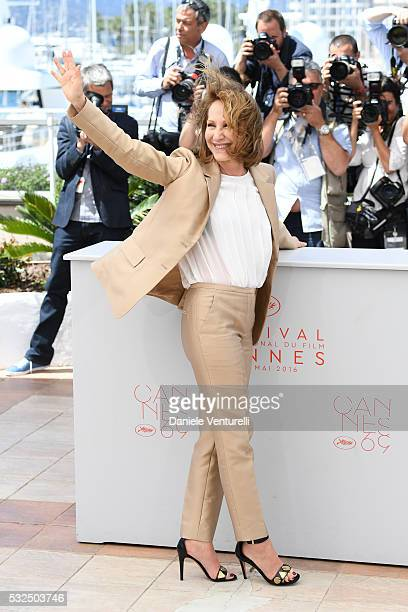 Nathalie Baye attends 'It's Only The End Of The World ' during the Photocall - The 69th Annual Cannes Film Festival on May 19, 2016 in Cannes, .