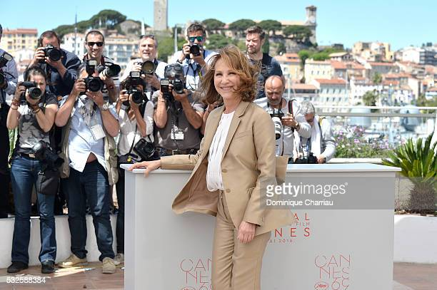 """Nathalie Baye attends the """"It's Only The End Of The World """" Photocall during the 69th annual Cannes Film Festival at the Palais des Festivals on May..."""