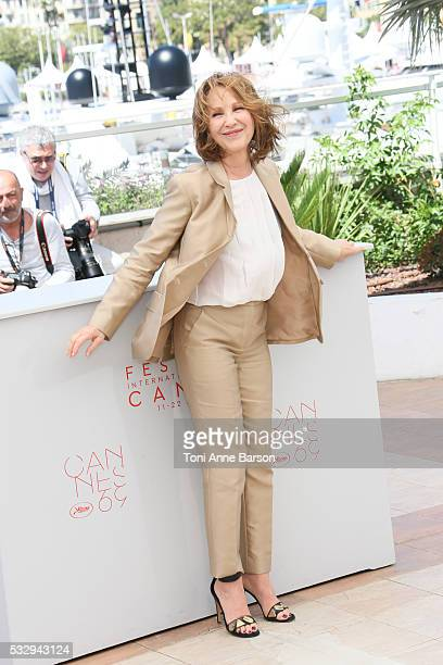 """Nathalie Baye attends the """"It's Only The End Of The World """" Photocall during the 69th annual Cannes Film Festival on May 19, 2016 in Cannes, France."""