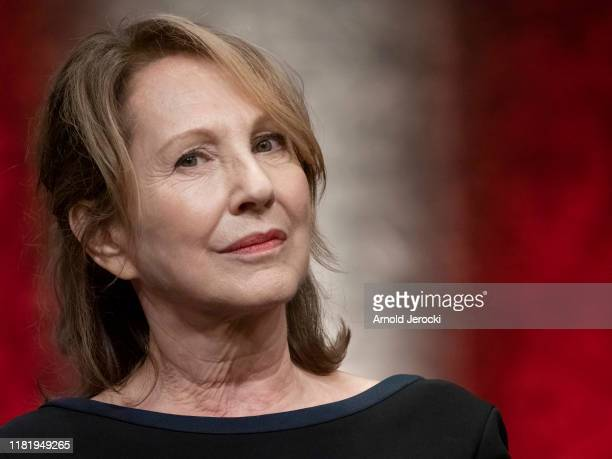 Nathalie Baye attends the tribute to Francis Ford Coppola during the 11th Film Festival Lumiere on October 18, 2019 in Lyon, France.