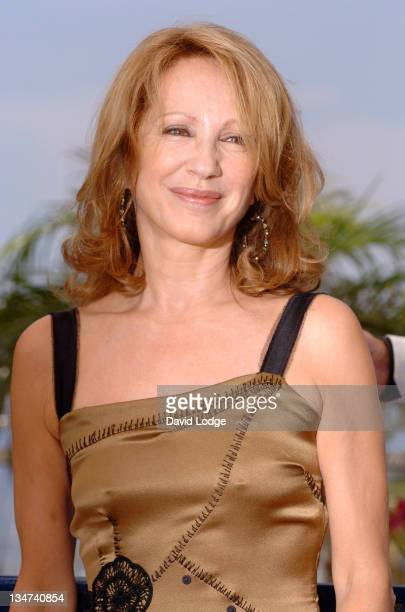 """Nathalie Baye during 2006 Cannes Film Festival - """"La Californie"""" Photocall at Palais des Festival Terrace in Cannes, France."""
