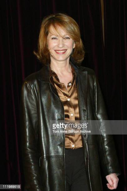 Nathalie Baye during Catch Me If You Can Photocall Paris at L'Elysee Biarritz Theater in Paris France
