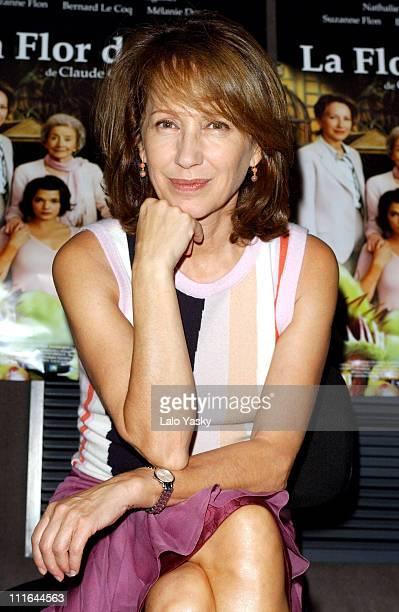 "Nathalie Baye during ""La Fleur du Mal"" Press Conference - Natalie Baye - Madrid at Princesa Cinema in Madrid, Spain."
