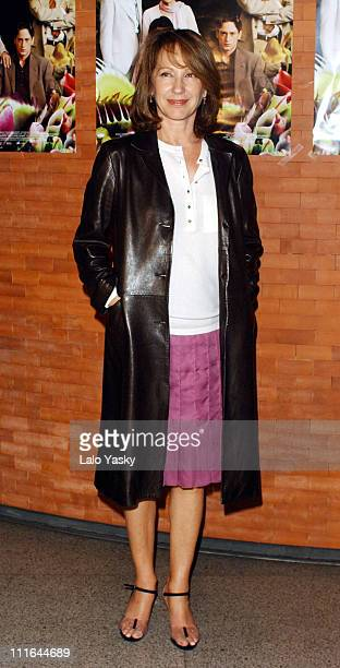 Nathalie Baye during Natalie Baye Presents a Special Screening of La FLeur Du Mal in Madrid at French Institute in Madrid Spain