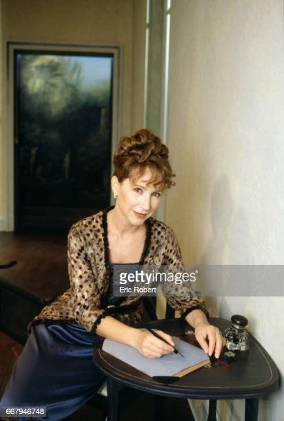 Nathalie Baye performs in La Parisienne a play by Henry Becque directed by JeanLouis Benoit