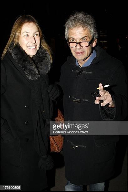 Nathalie Bloch Laine Robert at The 20th Anniversary Of La Regle Du Jeu Celebrated At The Cafe De Flore In Paris
