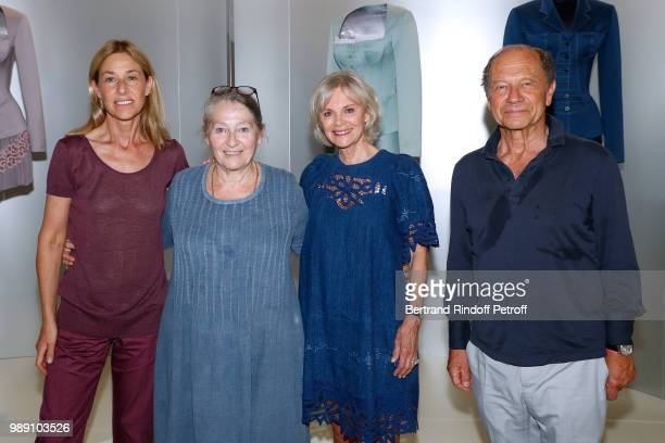 Nathalie BlochLaine Maya Paulin Elisabeth Guigou and JeanClaude Meyer attend L'Alchimie secrete d'une collection The Secret Alchemy of a Collection...