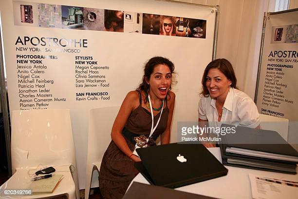 Nathalie Cordoba and Kelly Montez attend Connections by LE BOOK Day Two at Puck Building on June 11 2008 in New York City