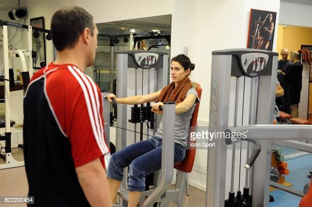 Nathalie DECHY Equipe de France feminine Stade de preparation physique Anglet