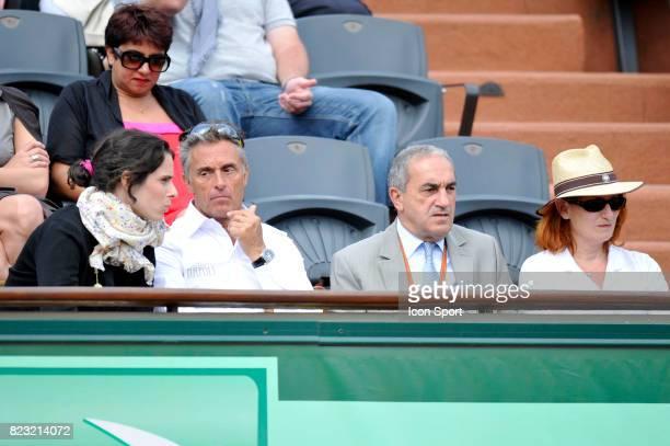 Nathalie Dechy / Gerard Holtz / Jean Gachassin Roland Garros 2011 Paris