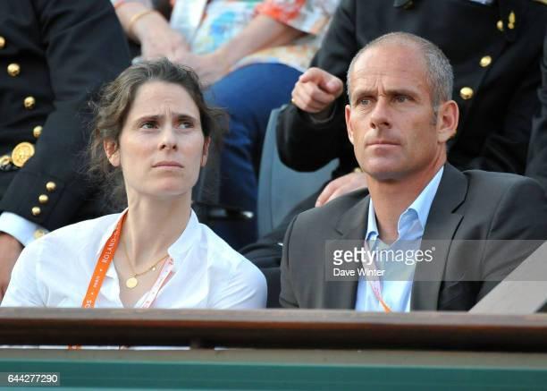 Nathalie DECHY / Guy FORGET Roland Garros 2012 Photo Dave Winter / Icon Sport