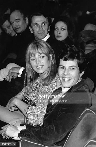 Nathalie Delon actrice française et Renaud Verley acteur français en France circa 1970
