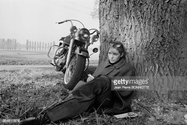 Nathalie Delon en septembre 1967 en Allemagne