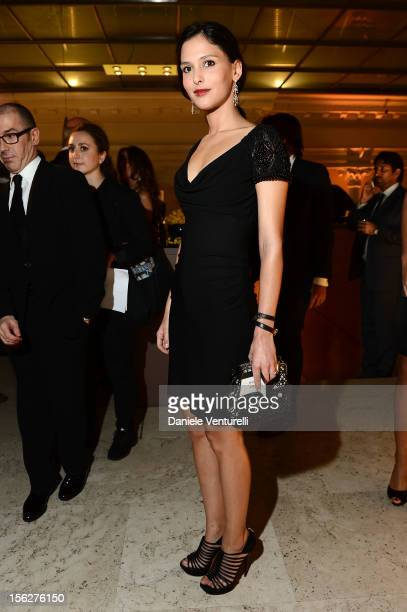 Nathalie Dompe attends the 2012 Telethon Gala during the 7th Rome Film Festival at Open Colonna on November 12 2012 in Rome Italy