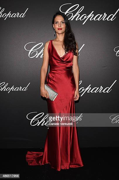 Nathalie Dompe attends the Chopard Imperiale Private Dinner during the 72nd Venice Film Festival at on September 4 2015 in Venice Italy