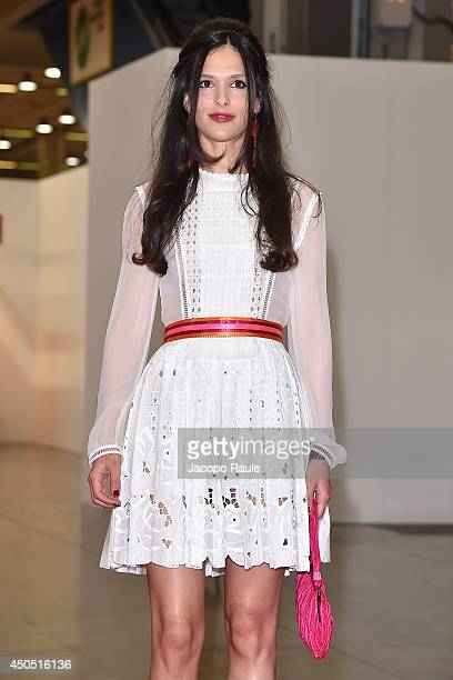Nathalie Dompe attends the Convivio 2014 on June 12 2014 in Milan Italy