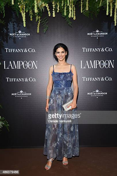 Nathalie Dompe attends the Lampoon Gala during the 72nd Venice Film Festival at Palazzo Pisani Moretta on September 3 2015 in Venice Italy