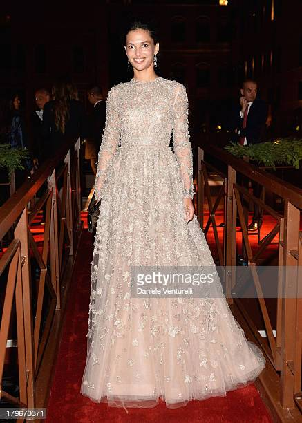 Nathalie Dompe attends the Valentino Ball during the 70th Venice International Film Festival at at Palazzo Volpi on September 4, 2013 in Venice,...