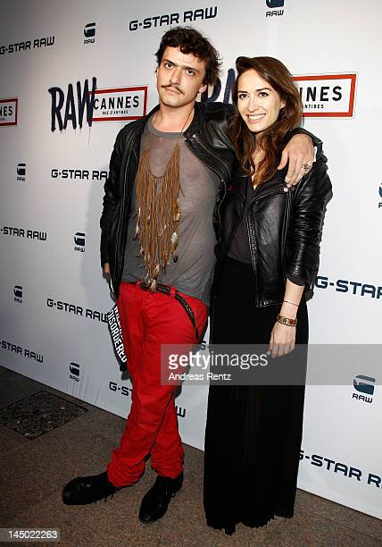 Nathalie Duchene and guest attend GStar RAW Cannes Store Opening on May 22 2012 in Cannes France