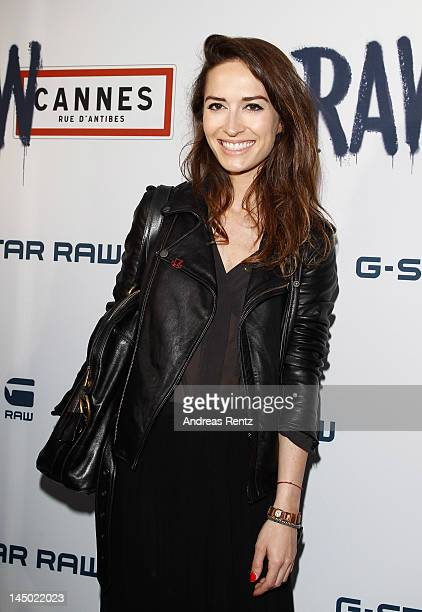 Nathalie Duchene attends GStar RAW Cannes Store Opening on May 22 2012 in Cannes France