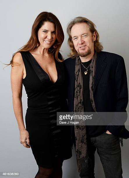 Nathalie Dufresne and Adrian Smith attend the Zoom F1 Charity auction in aid of Great Ormond Street Hospital Children's Charity at InterContinental...