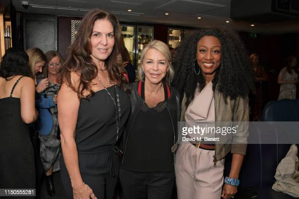 Nathalie DufresneSmith Leslie Ash and Beverley Knight attend the 'Ladies Who Rock' Lunch in aid of Teenage Cancer Trust at the Karma Sanctum Soho on...
