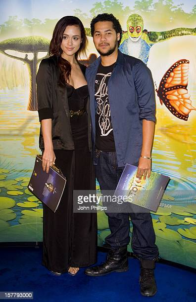 Nathalie Emmanuel And Devon Anderson Arrive To The Opening Night Of Totem By Cirque Du Soleil At The Royal Albert Hall In West London