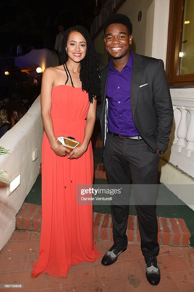 Nathalie Emmanuel and Guest attend 2015 Ischia Global Film & Music Fest Day 2 on July 14, 2015 in Ischia, Italy.