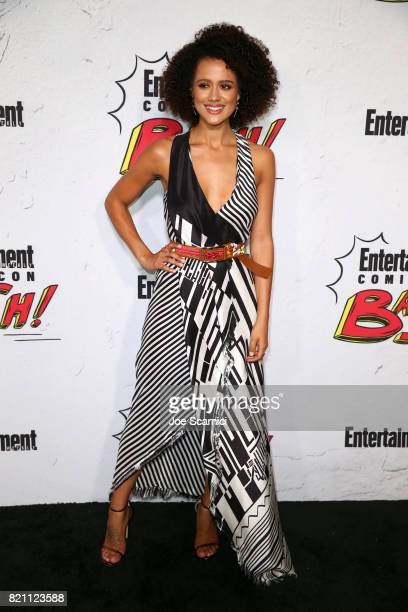 Nathalie Emmanuel at Entertainment Weekly's annual ComicCon party in celebration of ComicCon 2017 at Float at Hard Rock Hotel San Diego on July 22...
