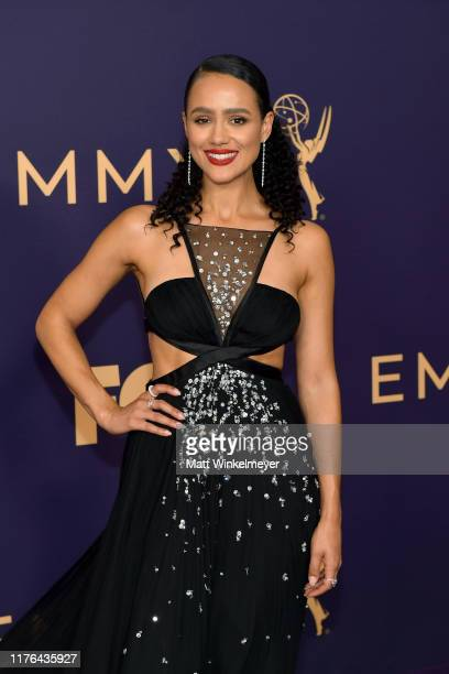Nathalie Emmanuel attends the 71st Emmy Awards at Microsoft Theater on September 22 2019 in Los Angeles California