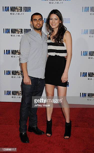 Nathalie Fay arrives at the I Am Number Four Los Angeles premiere at Mann's Village Theatre on February 9 2011 in Westwood California