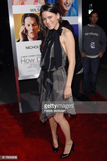 Nathalie Fay attend World Premiere of Columbia Pictures' HOW DO YOU KNOW at Regency Village Theatre on December 13th 2010 in Los Angeles California