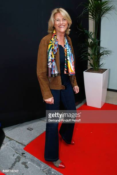 Nathalie Fellonneau attends the RTL RTL2 Fun Radio Press Conference to announce their TV Schedule for 2017/2018 at Elysee Biarritz at Cinema Elysee...