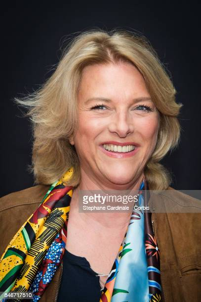 Nathalie Fellonneau attends the RTLRTL2Fun Radio Press Conference to Announce Their TV Schedule for 2017/2018 at Cinema Elysee Biarritz on September...