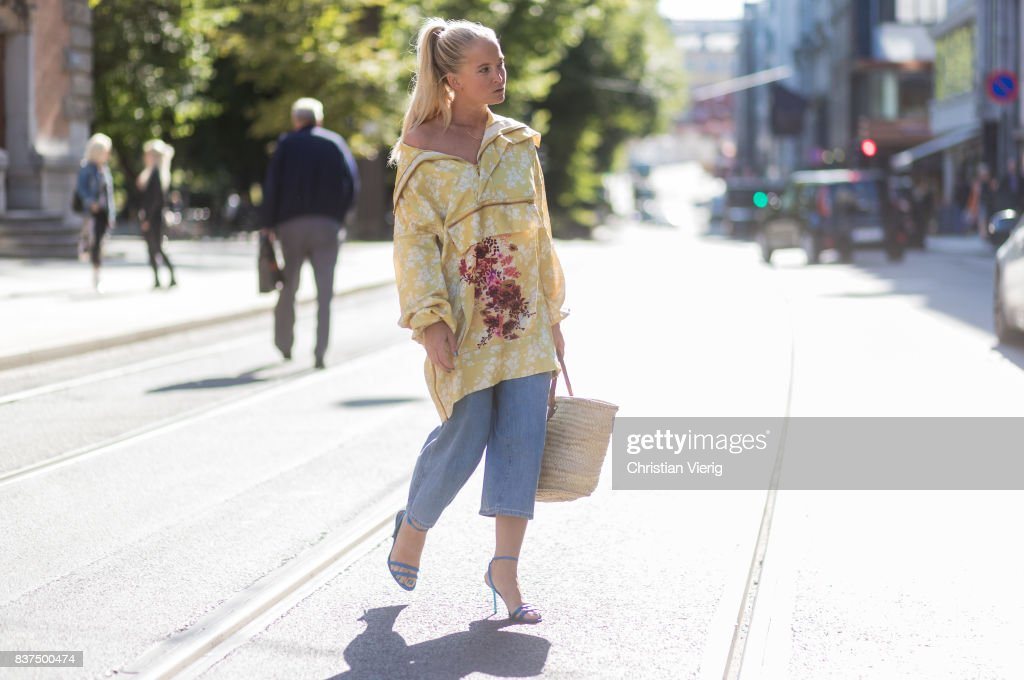 Street Style - Day 1 - Oslo Runway Spring/ Summer 2018 : News Photo