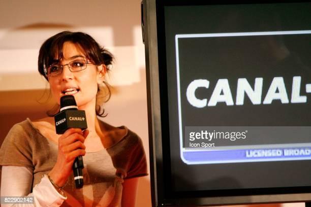 Nathalie IANNETTA Presentation du dispositif pour la Coupe du Monde 2010 des chaines Canal Boulogne Billancourt