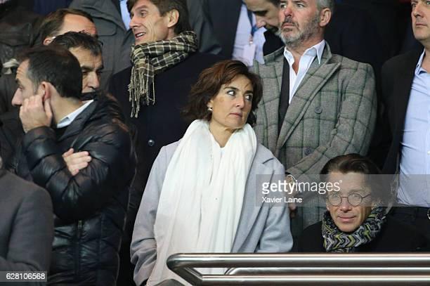 Nathalie Iannetta attends the UEFA Champions League Group A match between Paris SaintGermain and PFC Ludogorets Razgrad at Parc des Princes on...