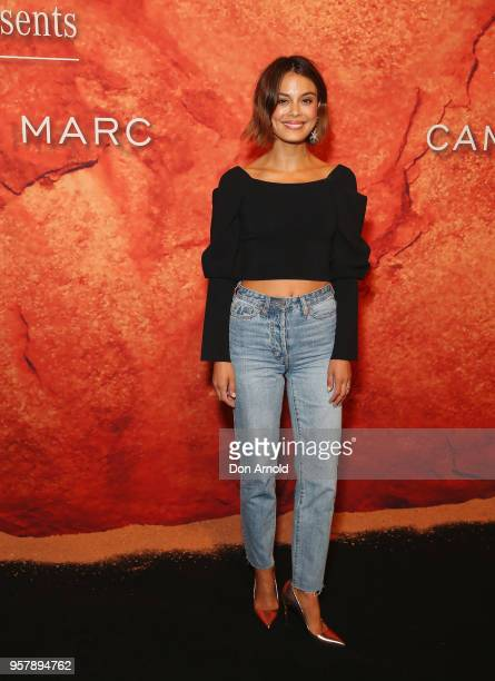 Nathalie Kelley arrives for the MercedesBenz Presents Camilla And Marc show at MercedesBenz Fashion Week Resort 19 Collections at the Royal Hall of...