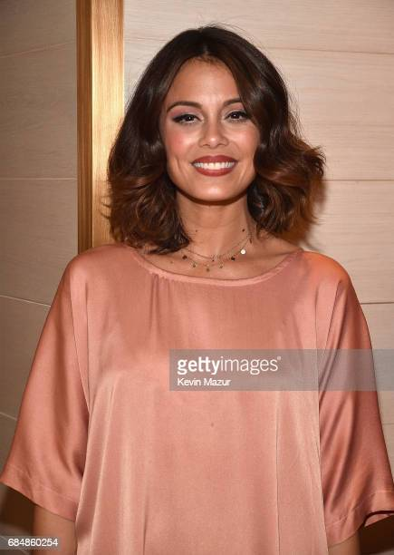 Nathalie Kelley attend The CW Network's 2017 party at Avra Madison Estiatorio on May 18 2017 in New York City