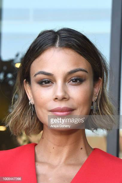 Nathalie Kelley attends the Jonathan Simkhai opens new retail store and brand headquarters In Los Angeles event at Jonathan Simkhai on July 25 2018...