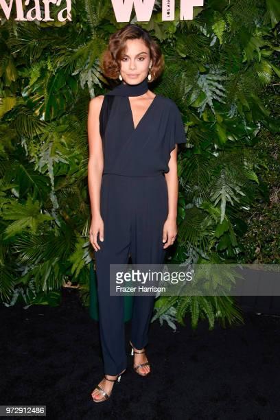 Nathalie Kelley wearing Max Mara attends the Max Mara Celebration for Alexandra Shipp 2018 Women In Film Max Mara Face Of The Future Award Recipient...